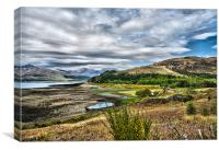 Loch Carron, Canvas Print