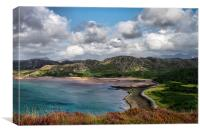 Gruinard Bay, Canvas Print