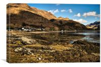 Arnisdale Bay, Canvas Print
