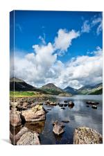 Lake District Sky and Water, Canvas Print