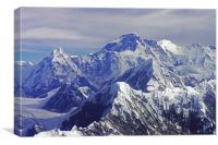 Mount Everest - The Roof of The World, Canvas Print
