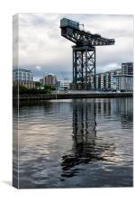 Finnieston Crane Glasgow Clydeside, Canvas Print