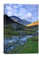Honister Pass Lake District, Canvas Print