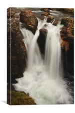Water of Nevis Falls, Canvas Print