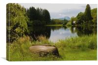 Loch Ard and Summer in the Trossachs, Canvas Print