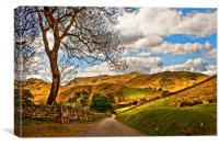 The Road To Howtown, Canvas Print