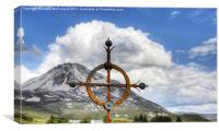 Errigal Cross, Canvas Print