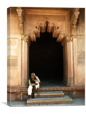 Red Fort India, Canvas Print