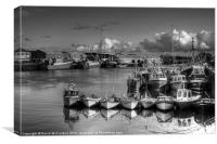 Kilkeel Harbour, Canvas Print