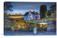 Lock Keepers Cottage, Canvas Print