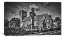 The Cathedral at Dromore, Canvas Print