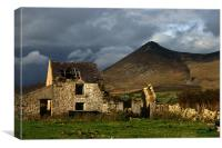 derelict in the Mournes, Canvas Print