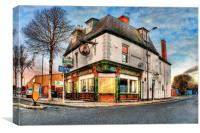 Dairycoates Inn 2014, Canvas Print