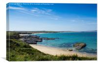 Godrevy Beach, Canvas Print