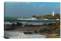 Godrevy Lighthouse, Canvas Print