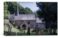 Culbone Church, Canvas Print
