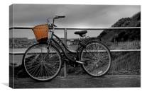 Bicycle, Canvas Print