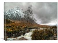 The Buachaille Etive Mor, Canvas Print