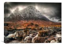 The Buachaille Etive Mor Scotland, Canvas Print