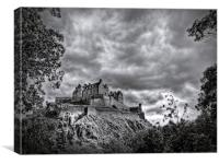 Edinburgh Castle Scotland, Canvas Print