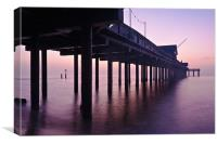 Southwold Pier at Dawn, Canvas Print