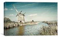Brograve Mill, Canvas Print