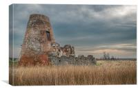St Benets Abbey, Canvas Print