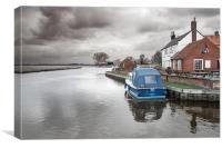 Stokesby Ferry, Canvas Print