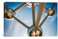 Brussels Atomium, Canvas Print