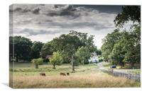 Buckinghamshire Arms, Canvas Print