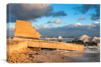 Hemsby Lifeboat Station, Canvas Print