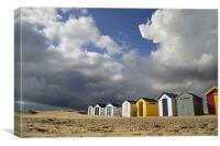 Storm approaching, Canvas Print