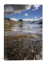 Wast Water, Lake District, England, Canvas Print
