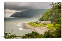 Lynton and Lynmouth, Canvas Print