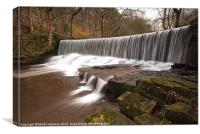 Yorkshire Water., Canvas Print