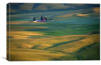 Palouse Barn, Canvas Print