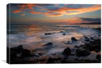 REd Sky Paradise, Canvas Print