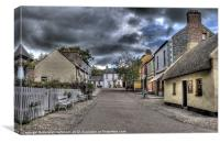 Before the Storm - Bunratty Folk Park, Canvas Print