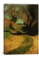 Private Walking, Canvas Print