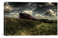 Pannier on the North Norfolk, Canvas Print