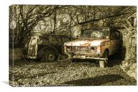 Off the Road, Canvas Print