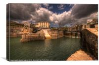 Charlestown Harbour, Canvas Print