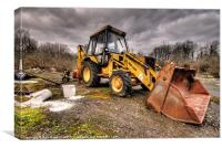 The Rusty DIgger, Canvas Print