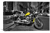 MOTO in Pisa, Canvas Print