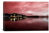 Red Twylight , Canvas Print