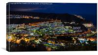 Puerto Rico by night , Canvas Print