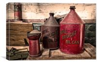 Royal Daylight Cans , Canvas Print