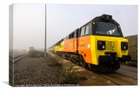 Class 70s in the Mist , Canvas Print