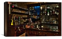 The Bar in HDR, Canvas Print