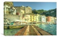 Sorrento Waterfront, Canvas Print